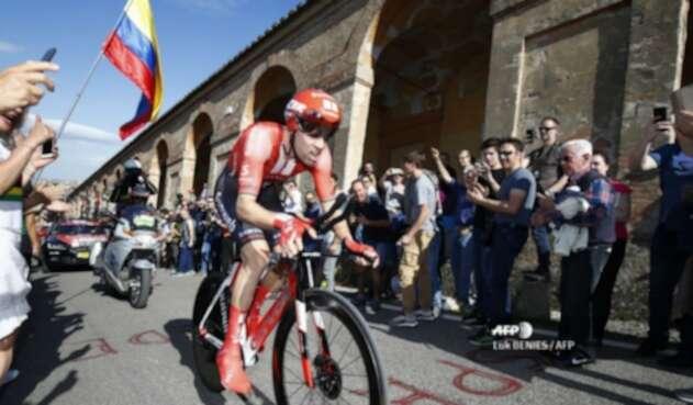 Tom Dumoulin en el Giro de Italia 2019