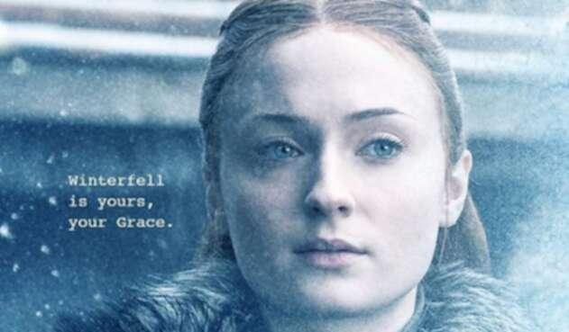 La actriz publicó una imagen que para muchos se relaciona directamente con el final de la octava temporada.