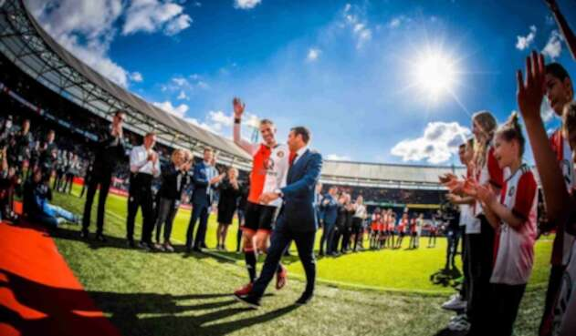 Despedida de Robin Van Persie en Feyenoord