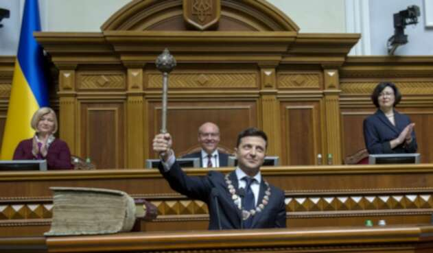 Volodymyr Zelensky, presidente de Ucrania