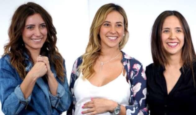 Ana María Medina, Ángela Gordon y Andrea Silva
