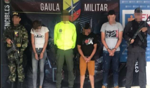 Presuntos responsables del homicidio de un médico en El Bagre, Antioquia
