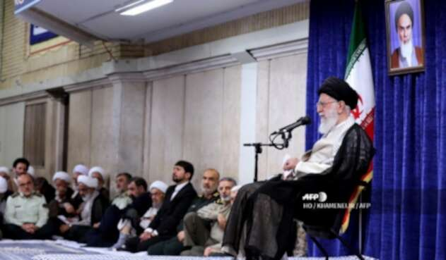 Ali Jameneí, líder supremo de Irán