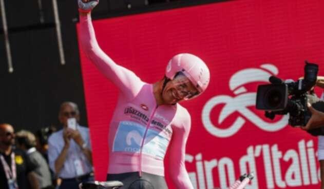Richard Carapaz, líder del Giro de Italia