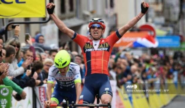 Dylan Teuns, líder del Critérium del Dauphiné