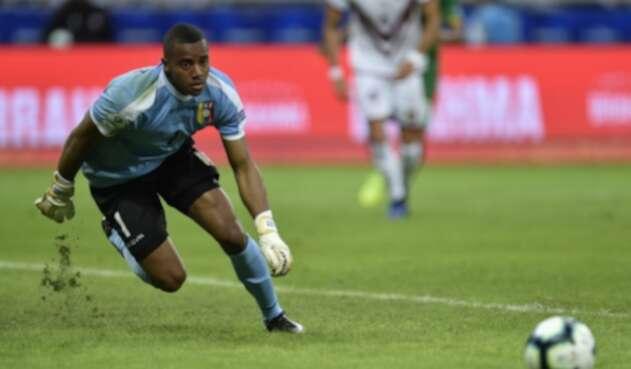 WuilkerFaríñez es el guardameta de la selección de Venezuela