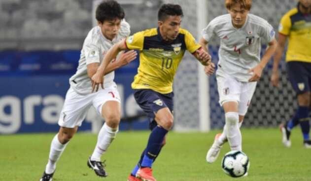 Ecuadro vs Japón en la Copa América