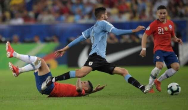 Uruguay ante Chile en la Copa América