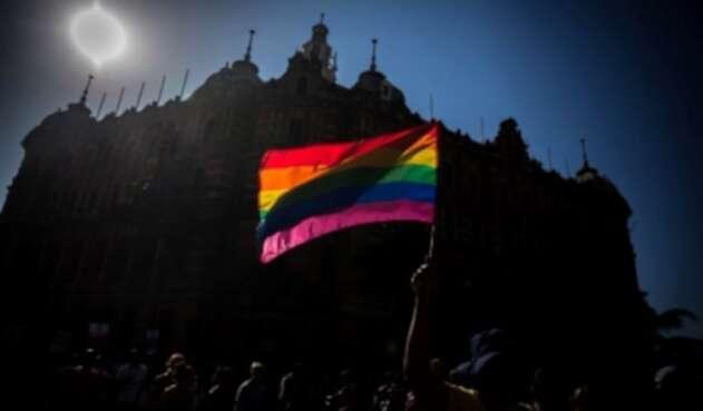bandera lgbti arcoiris gay