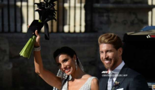 Sergio Ramos se casó con Pilar Rubio en Sevilla