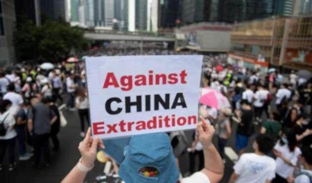Protestas contra la extradición en Hong Kong