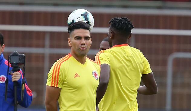 Copa América · Entrenamiento Selección Colombia