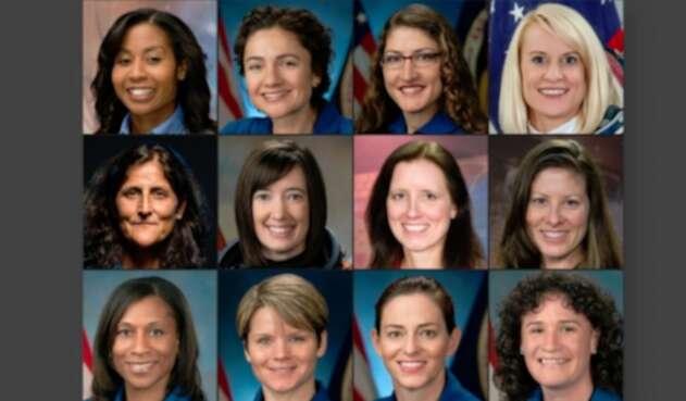 Mujeres que podrían pisar la Luna