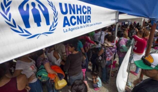 Image result for acnur venezolanos en colombia