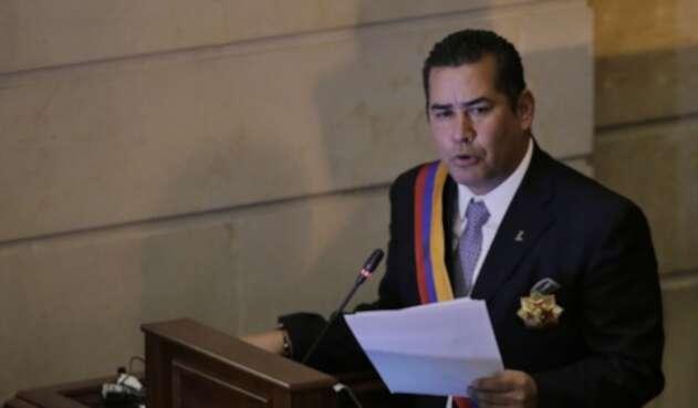 El representante Alejandro Carlos Chacón