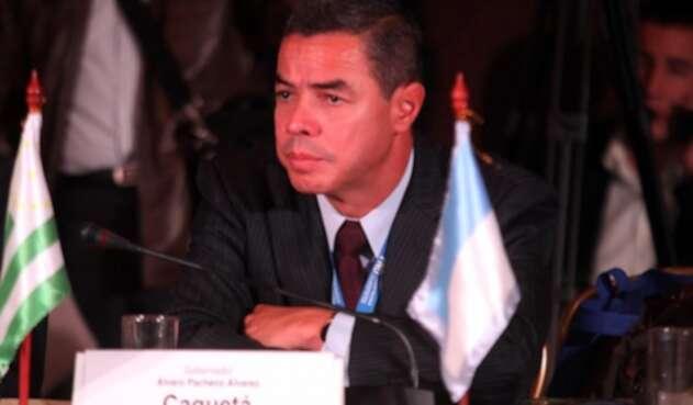 Álvaro Pacheco, gobernador de Caquetá.