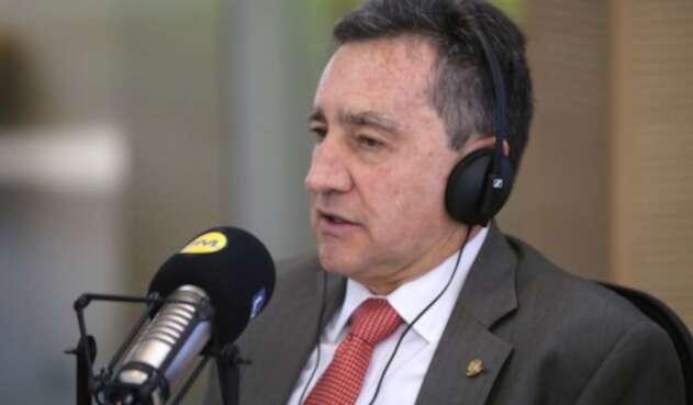 El magistrado Álvaro García, presidente de la Corte Suprema de Justicia