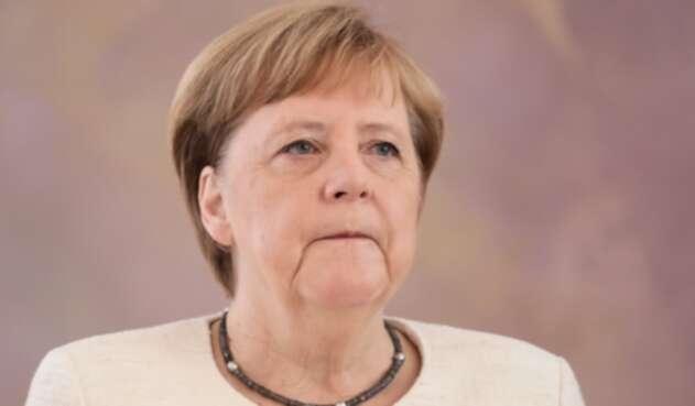Ángela Merkel, canciller alemana, en Berlín