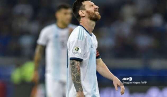 Messi salvó a la Selección Argentina ante Paraguay