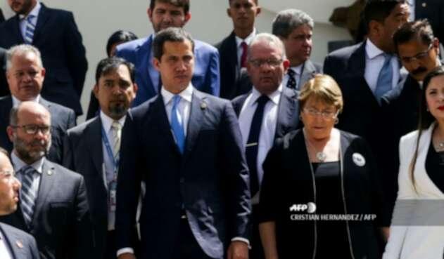 Michelle Bachelet se reunió con Juan Guaidó en Caracas