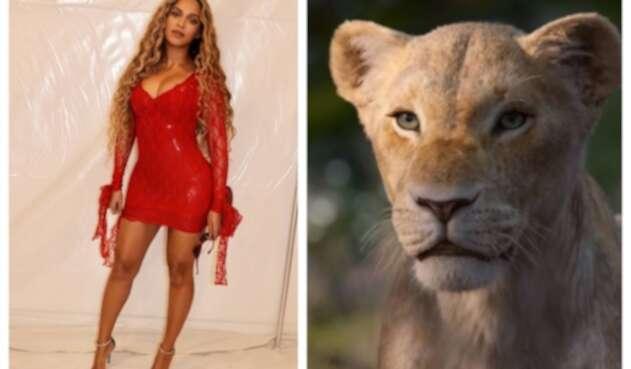 Voz de Beyoncé en 'El Rey León'