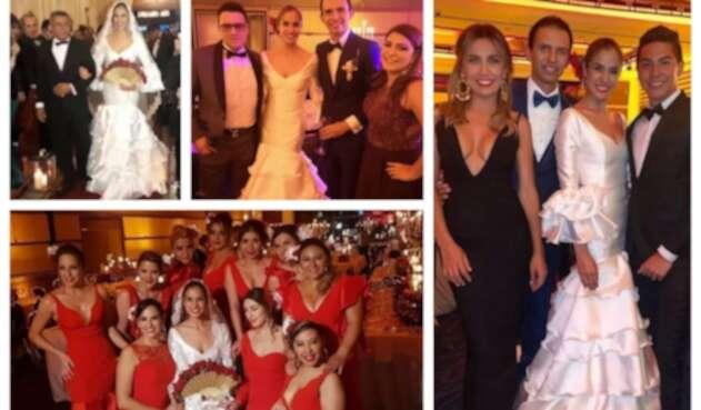 Matrimonio de Zahira Benavides