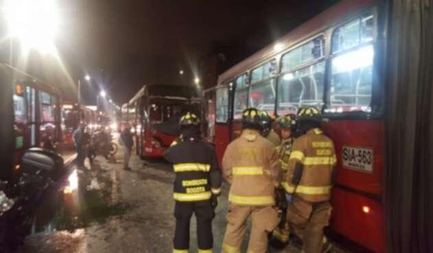 Más de 20 lesionados dejó el accidente