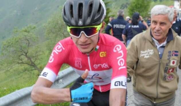 Camilo Ardila, actual líder del Giro de Italia Sub-23