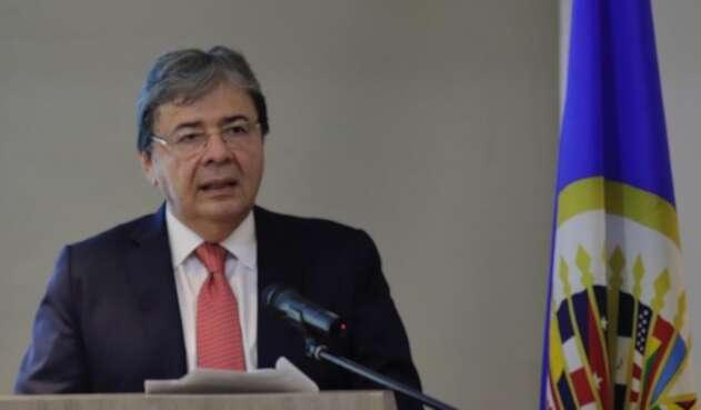 Carlos Holmes Trujillo se refirió a informe de Michelle Bachelet
