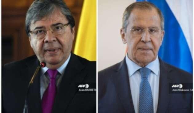 Carlos Holmes Trujillo y Serguei Lavrov hablarán de Venezuela en Rusia