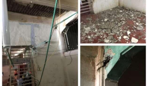 Fallas estructurales en cárcel de mujeres de San Diego, en Cartagena