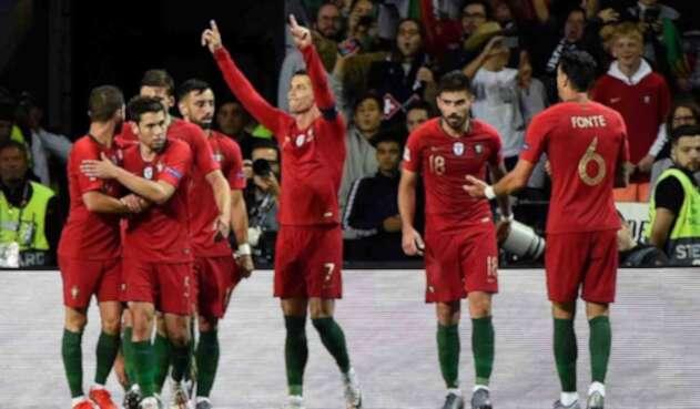 Cristiano Ronaldo, delantero portugués.