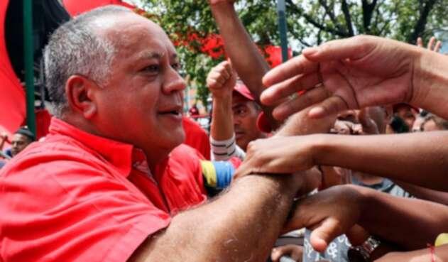 Diosdado Cabello, presidente de la Asamblea Constituyente del régimen de Venezuela