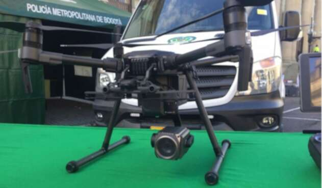 Drones de la Policía de Bogotá