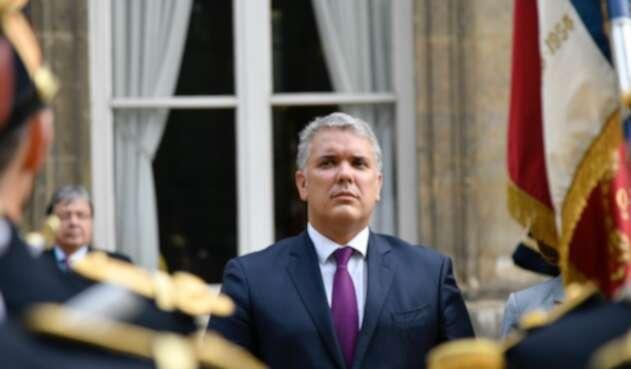 Presidente Iván Duque, en gira por Europa