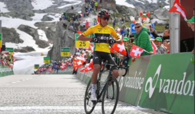Egan Bernal, campeón del Tour de Suiza 2019