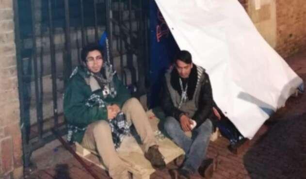 Estudiantes de la Universidad Autónoma de Bogotá, en huelga de hambre