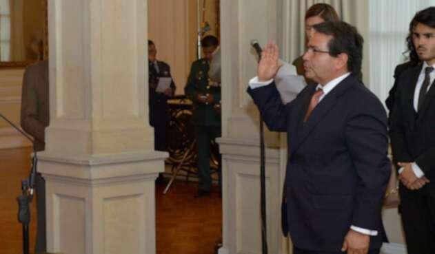 Eyder Patiño, magistrado de la Sala Penal de la Corte Suprema de Justicia