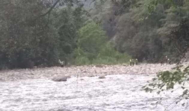 Hallazgo del cuerpo de un joven en un río de Cundinamarca