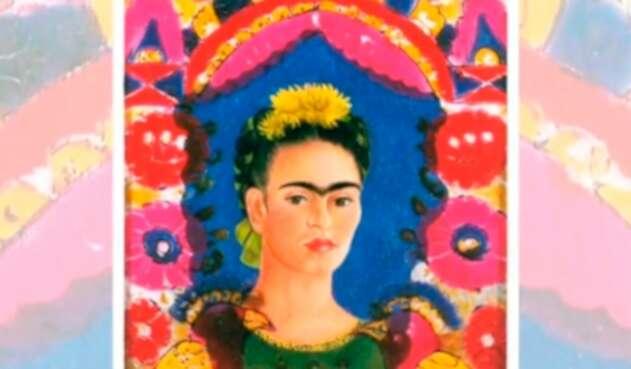 Frida Kahlo en el video de la Fonoteca Nacional de México