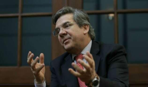 El senador de Cambio Radical, Germán Varón Cotrino.