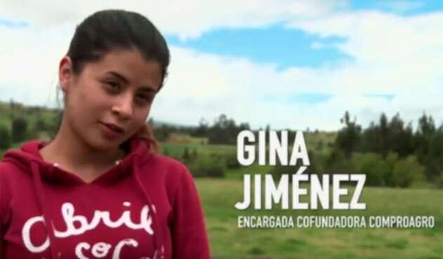 Gina Jiménez, fundadora de Compoagro