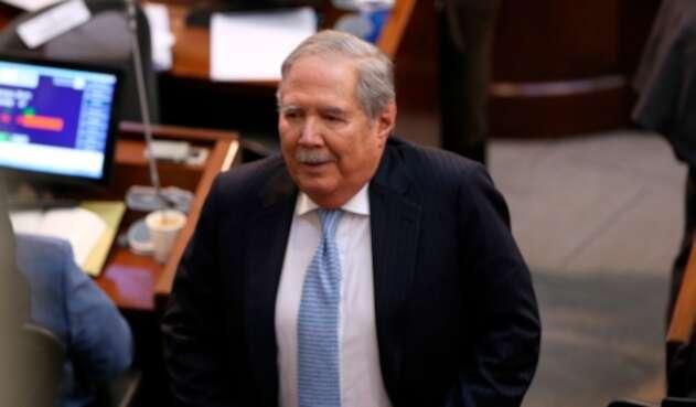 Guillermo Botero, ministro de Defensa, en el Congreso de la República