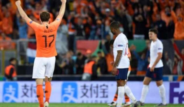 Holanda vs. Inglaterra.