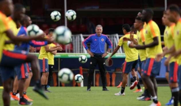 Carlos Queiroz y la Selección Colombia
