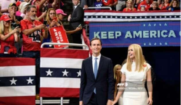 El consejero de la Casa Blanca, JaredKushner, es yerno de Donald Trump.