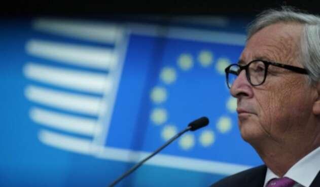 Presidente de la Comisión Europea (CE), Jean-Claude Juncker.