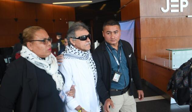 Jesús Santrich sigue estando en el centro del huracán por presuntos delitos de narcotráfico.
