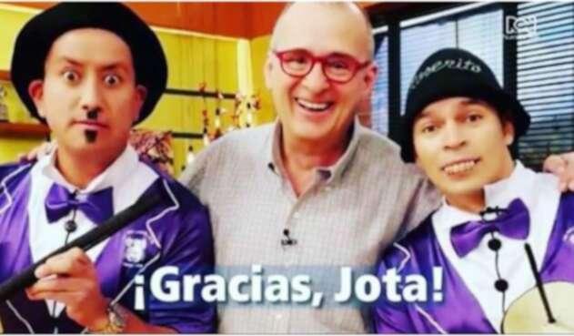 Jota Mario Valencia y Los Cuyes en Muy Buenos Dias