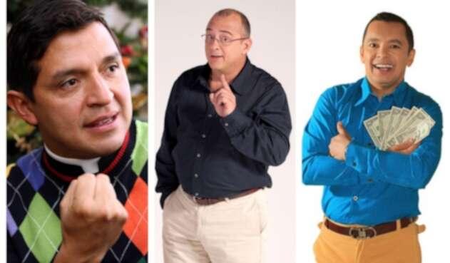 Padre Chucho, Jota Mario Valencia y el profesor Salomón